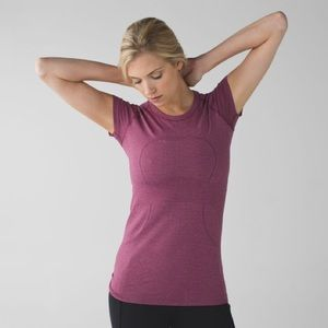 Lululemon Swiftly Tech Short Sleeve Crew Tee Shirt